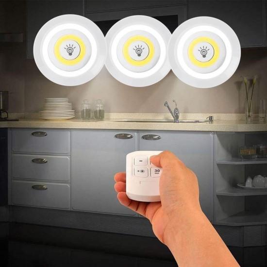 Conjunto Lâmpadas LED Com Comando...