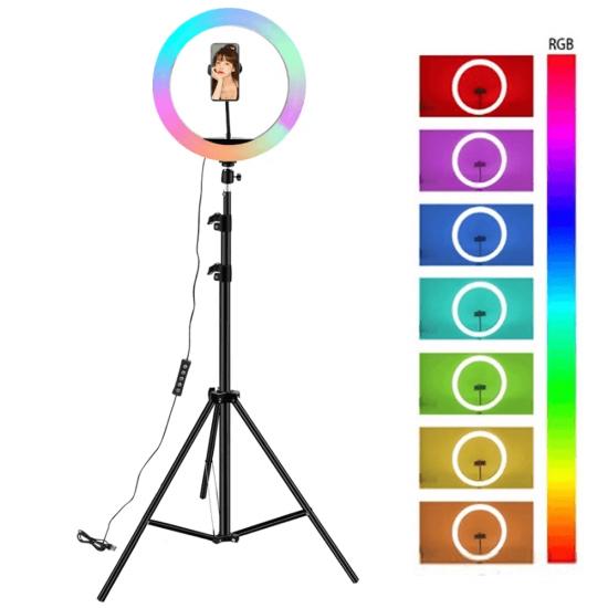 Ring Light 26CM Colorido RGB